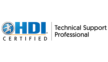 HDI Technical Support Professional 2 Days Training in San Francisco, CA