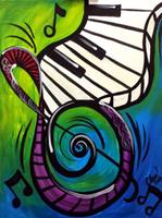 """Creole Canvas - """"Ivory Keys"""" - (SOLD OUT)"""