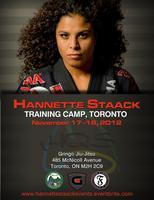 Hannette Staack Training Camp Toronto 2012