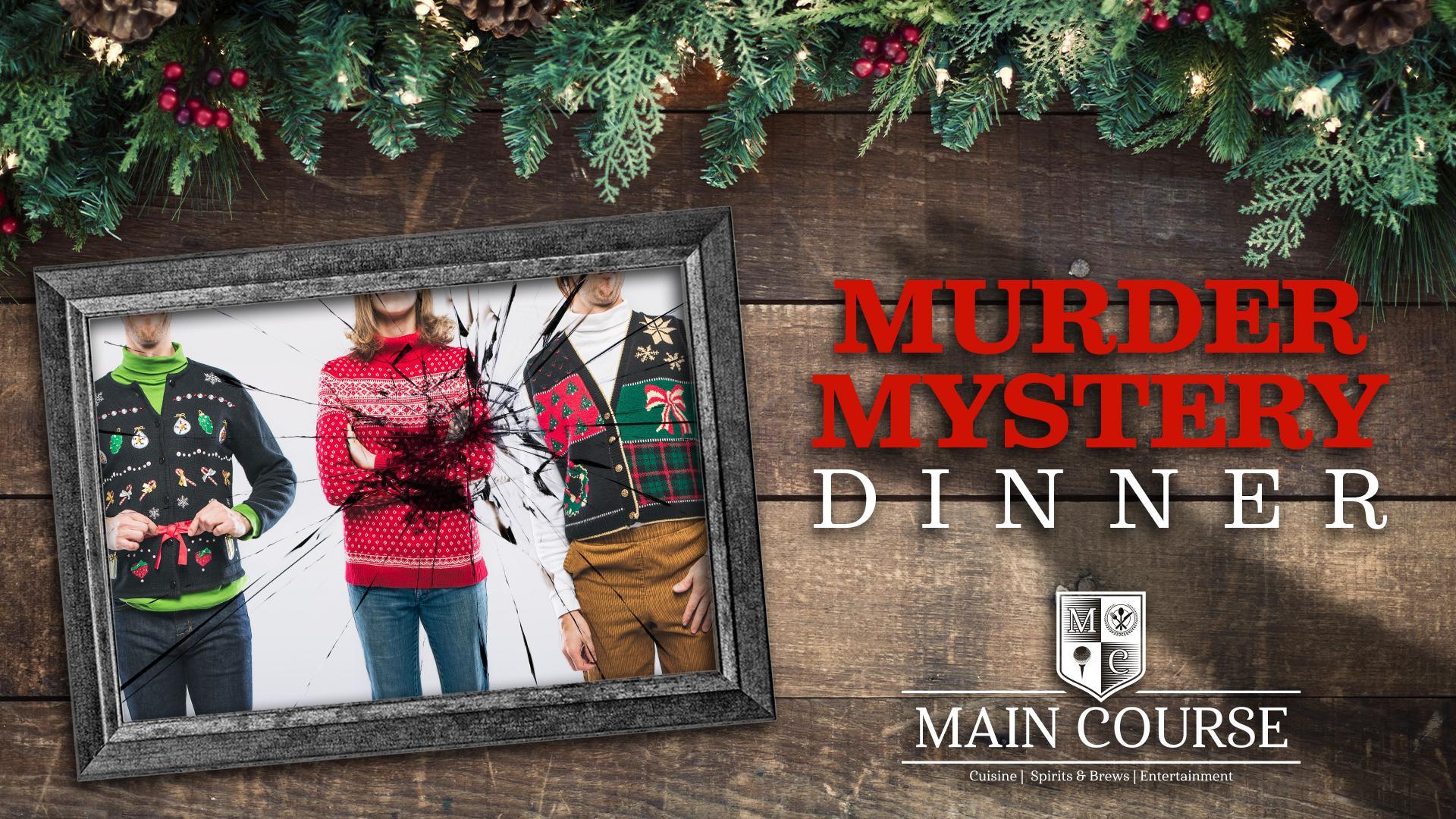 Christmas Murder Mystery Dinner