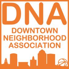 Downtown Neighborhood Association of Des Moines logo