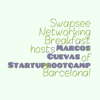 Swapsee Networking Breakfast con Marcos Cuevas de Start...