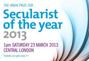 Secularist of the Year 2013