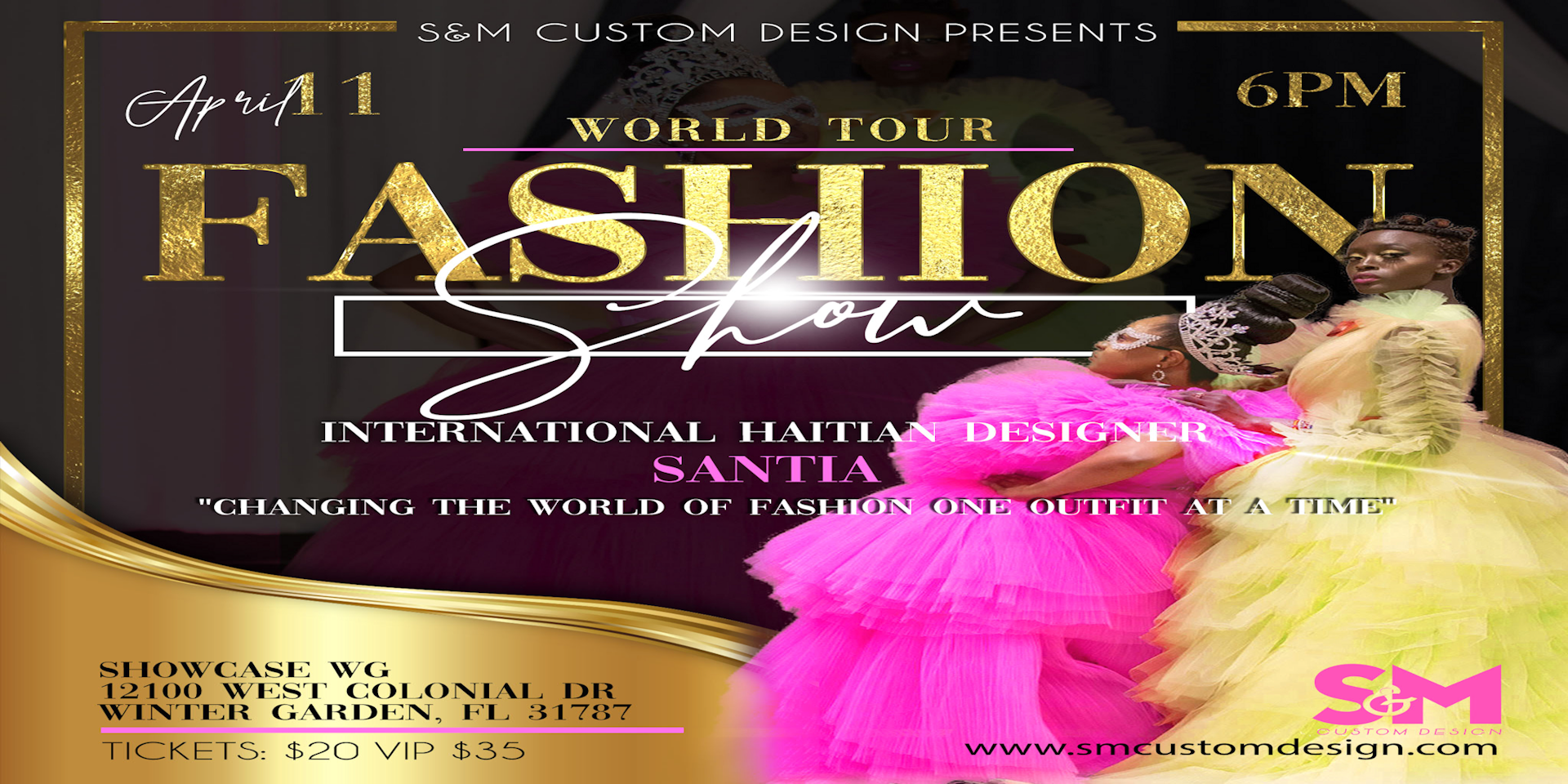 S M Presents World Tour Fashion Show 27 Jun 2020