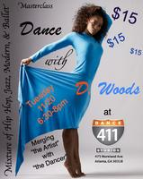 Dance with D. Woods, Tuesday, 11/20, 6:30- 8:00 pm
