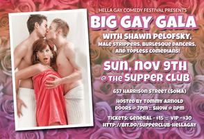 Hella Gay Comedy Festival Big Gay Gala