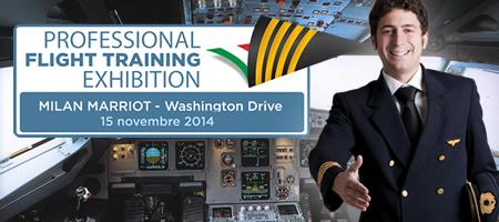 Professional Flight Training Exhibition - Milan 2014