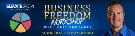 """""""Business Freedom"""" with world-renowned speaker, Eric..."""