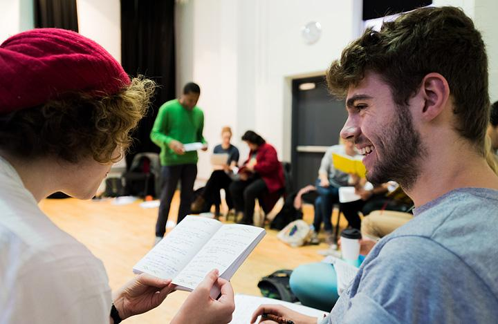 Playwriting: Intermediate - Evening Course (Mon) Summer Term 2020