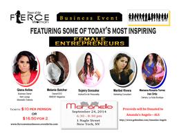 Power of the F.I.E.R.C.E. Woman Entrepreneurs Event