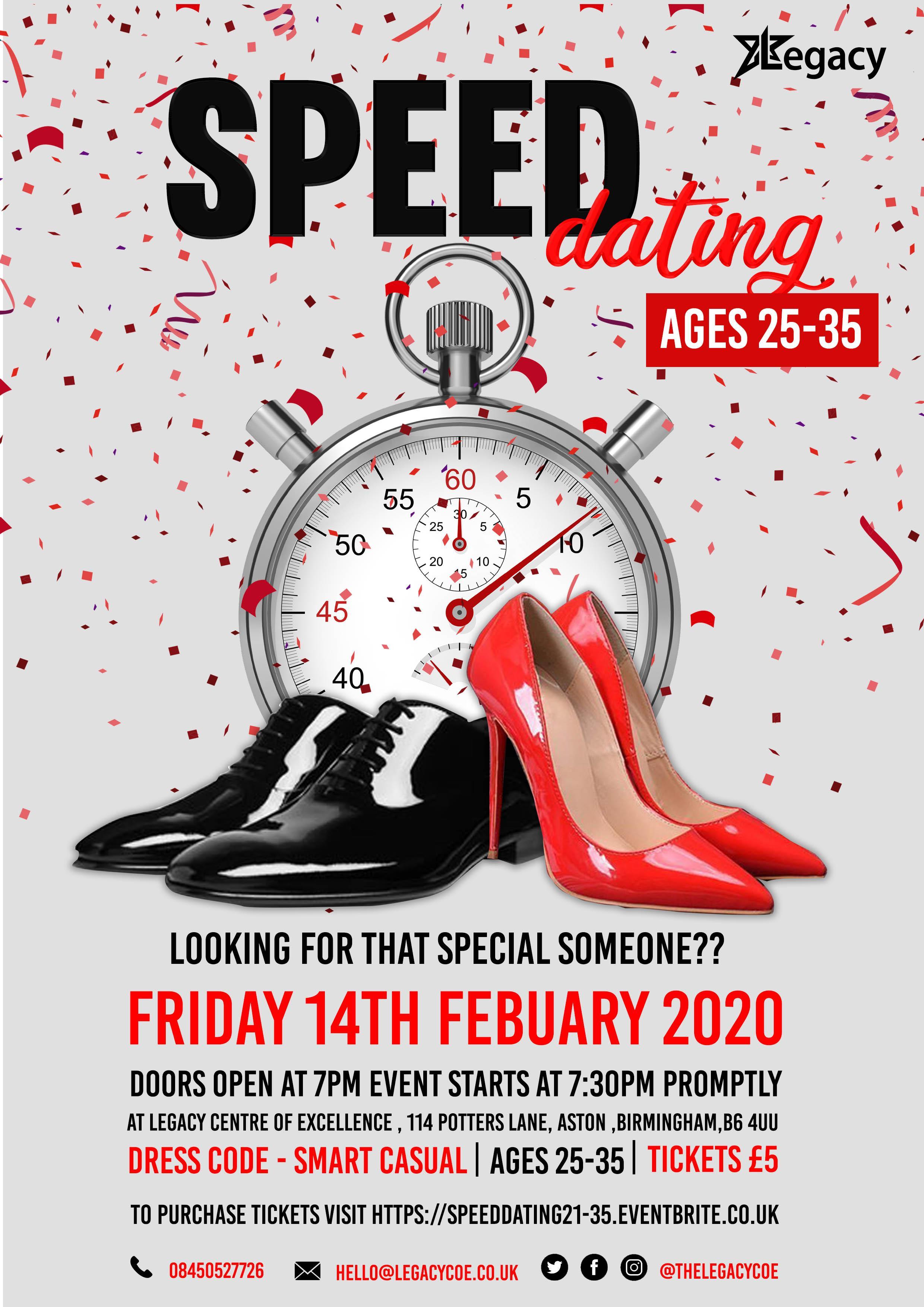 Speed Dating 25-35
