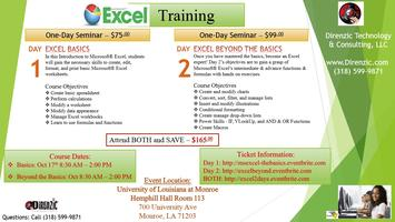Microsoft Excel - 2 Day Excel Training Seminar