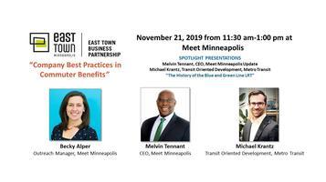 ETBP November 21 Business Forum at Meet Minneapolis
