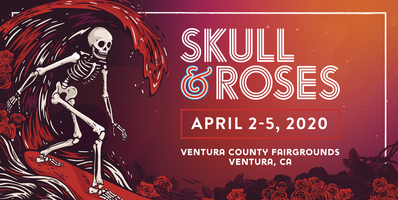 Walking Dead Events 2020.Skull Roses Festival Tickets Thu Apr 2 2020 At 6 00 Pm