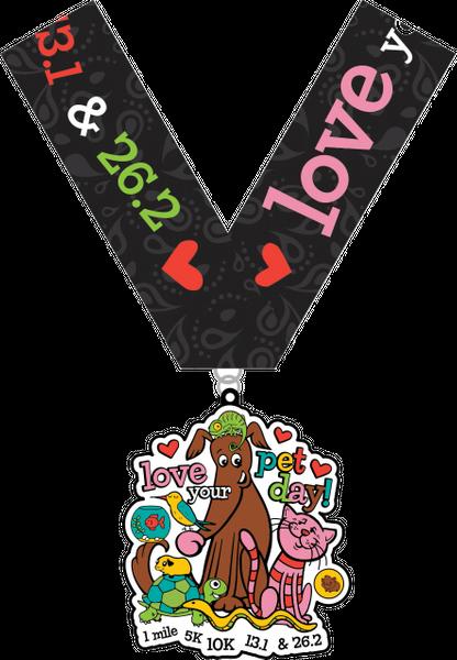 2020 Love Your Pet Day 1M, 5K, 10K, 13.1, 26.2 -Austin