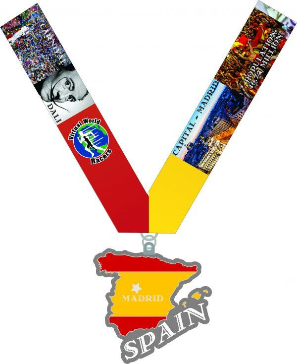 2020 Race Across Spain 1 Mile, 5K, 10K, 13.1, 26.2- Austin