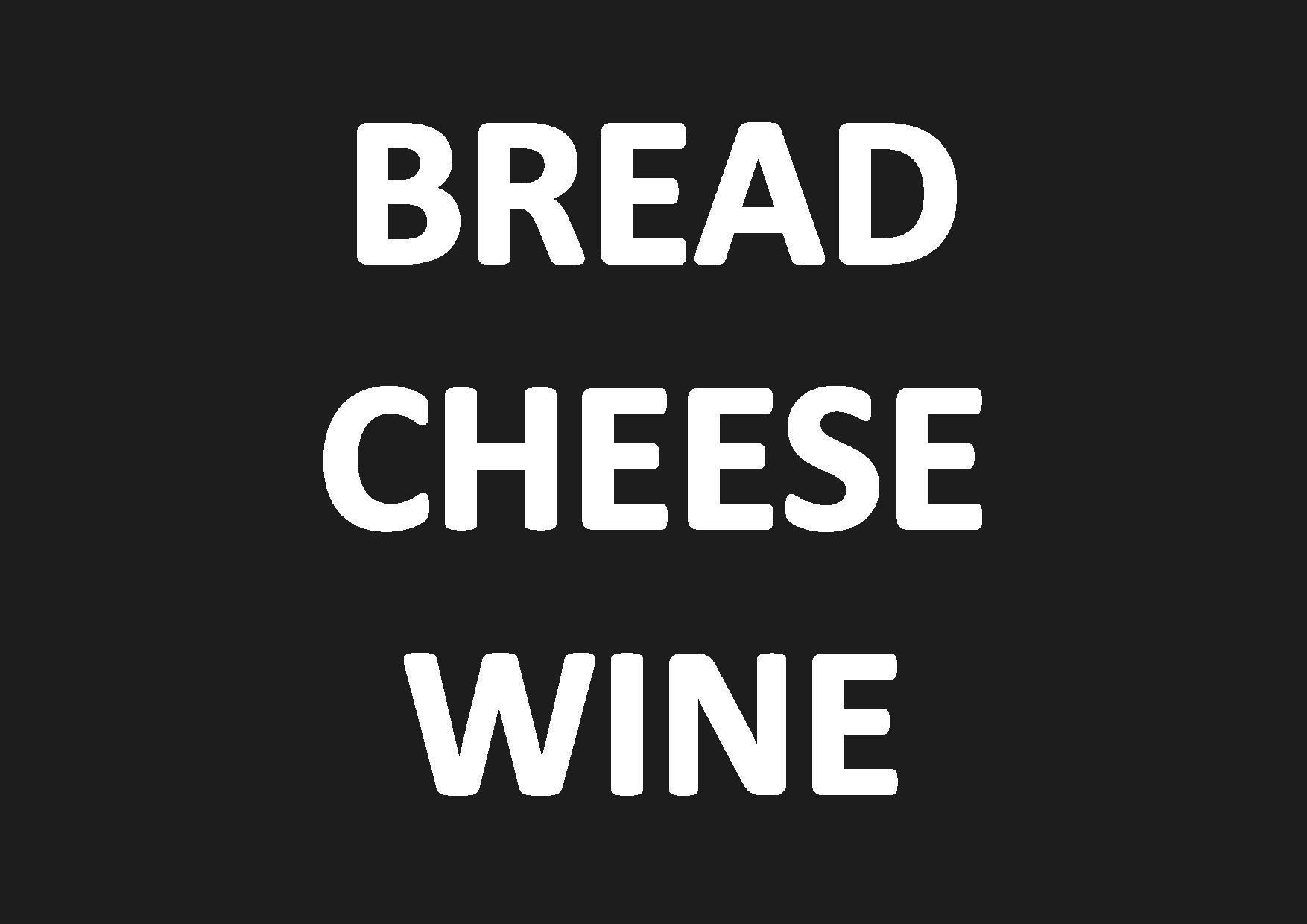BREAD CHEESE WINE - COASTAL THEME - THURSSDAY 26TH MARCH