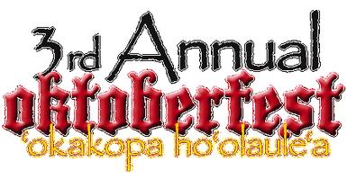 Oktoberfest 2014 - Okakopa Hoolaulea