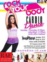 RAE Studios | Cardio Dance with Allie Ludmer...
