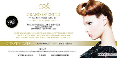 NOËL NEW YORK SALON & BOUTIQUE LAUNCH PARTY