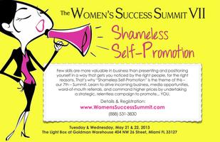 "Women's Success Summit VII - Theme: ""Shameless..."