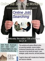 Monthly Career Workshops - Online Job Searching