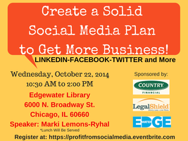 Create a Solid Social Media Plan to Get More Business!
