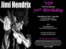 Jimi Hendrix 70th Birthday Party - Miami
