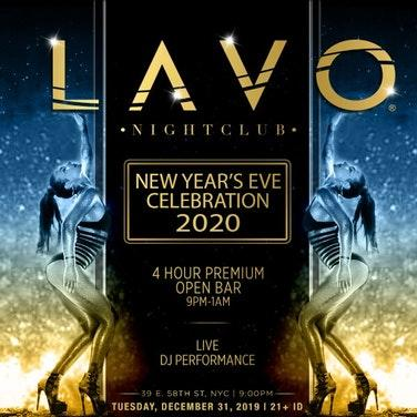 LAVO Nightclub New Year's Eve 2020 Party