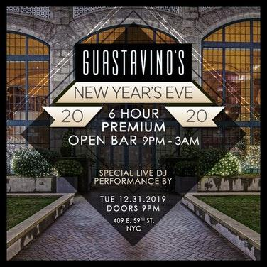 Guastavino's New Year's Eve 2020 Party