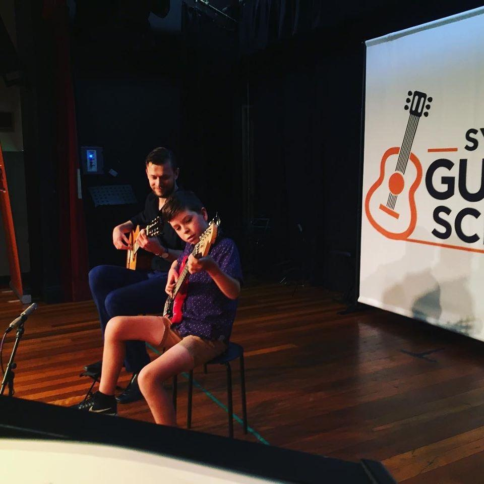 SGS End of Year Concert Celebration THREE: 2:30pm-3:30pm Solo Guitar (Grade 3 and above)