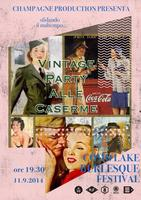 "Como Lake Burlesque Festival Opening ""Vintage Party"" -..."