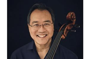 Reflection with youth: part of Yo-Yo Ma's Bach Project...