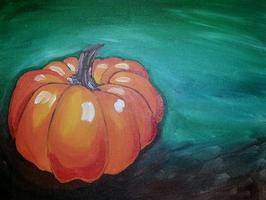 Fall Pumpkin painting party at Twigs in Spokane Valley