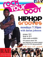 RAE Studios | Hip Hop with Darian Johnson (MONDAYS 7:30PM)