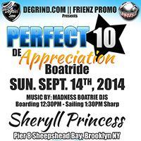 PERFECT 10 APPRECIATION BOAT RIDE
