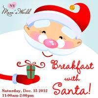 NY Mom's World's Breakfast with Santa