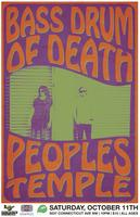 Bass Drum Of Death + The People's Temple at Comet Ping...