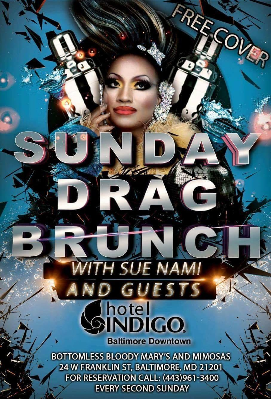 Second Sunday Drag Brunch @ Hotel Indigo Baltimore
