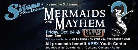 3rd Annual Mermaids & Mayhem Halloween Ball