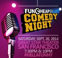 "Funcheap's ""Best of SF"" 2014 Comedy Showtacular 