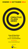 Creative Class Heroes Alessandria