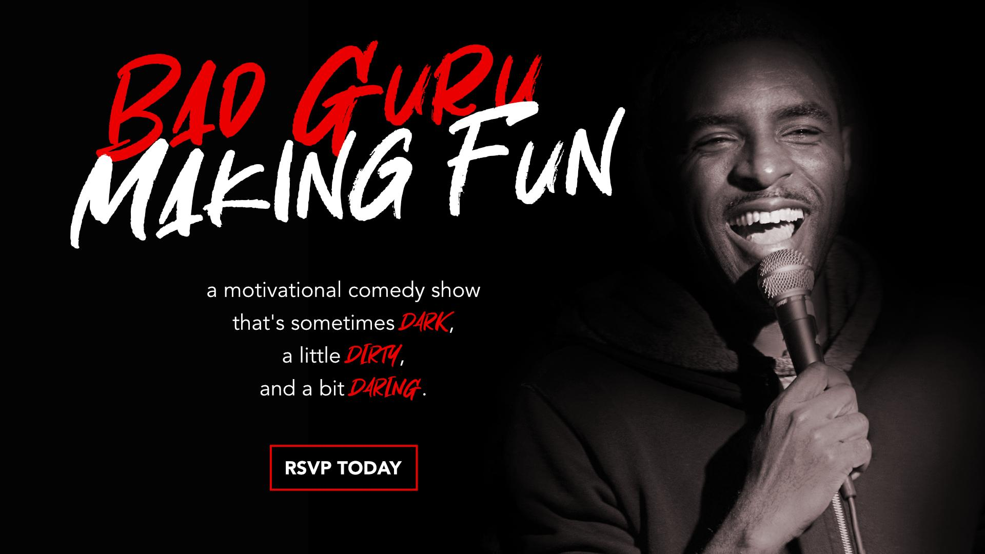 Bad Guru | Making Fun - Motivational Comedy Show - BYOB