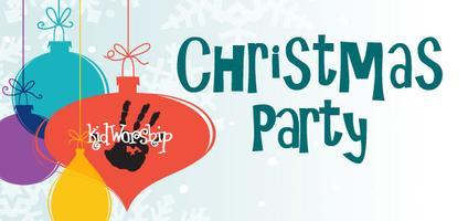 kidWorship Christmas Party!