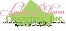 Ladies of Vision Charities logo