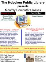 Buying a Computer - Monthly Computer Classes