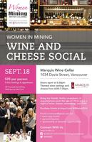 Women in Mining - Wine and Cheese Social