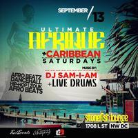 Ultimate Afrique + Caribbean Saturdays
