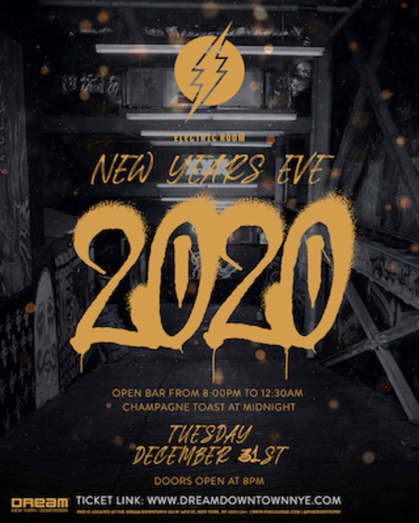 Electric Room at Dream Downtown New Year's Eve 2020