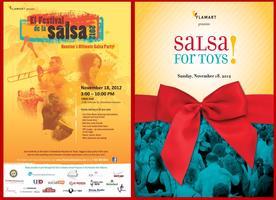 El Festival de la Salsa and Salsa for Toys